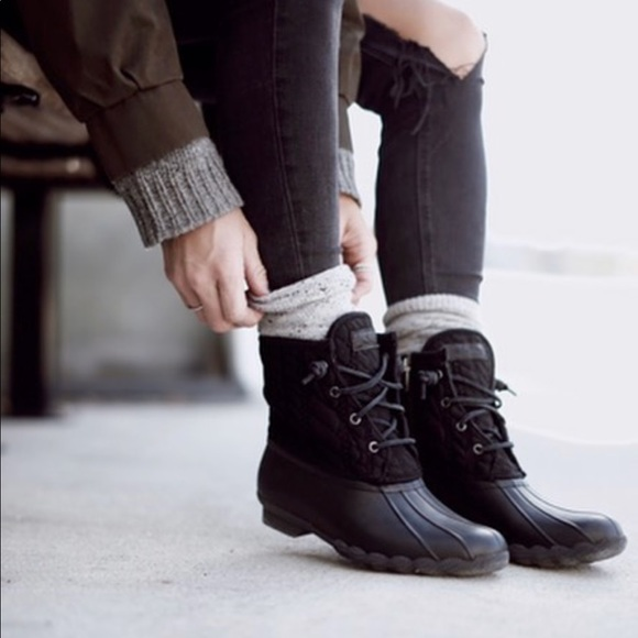 Sperry Saltwater Quilted Nylon Duckboot